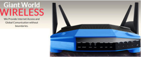 Giant World Wireless router