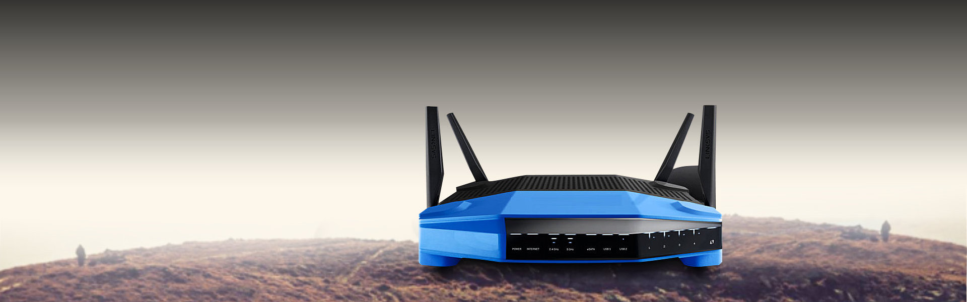 blue color modem