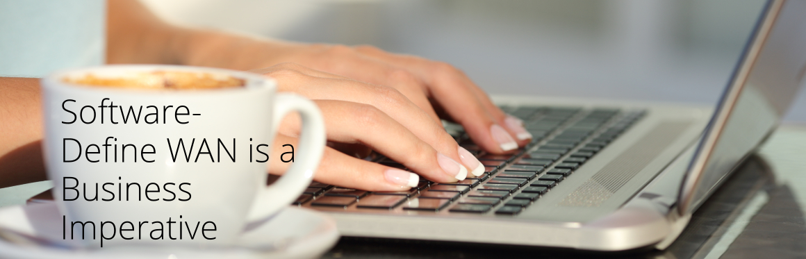 Woman's hands typing in a laptop