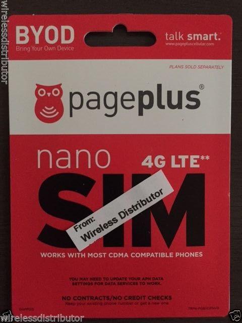 PagePlus Sim
